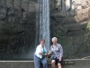 Carol McAmis and Laurie Nuzum Graham at TaughannockFalls